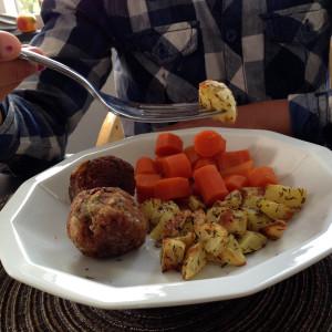 veganistische gehaktballen
