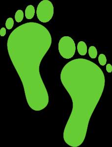 duurzaam voetafdruk