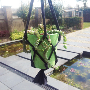 plantenhanger maken