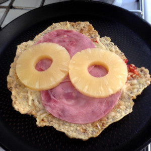Pizza zonder oven