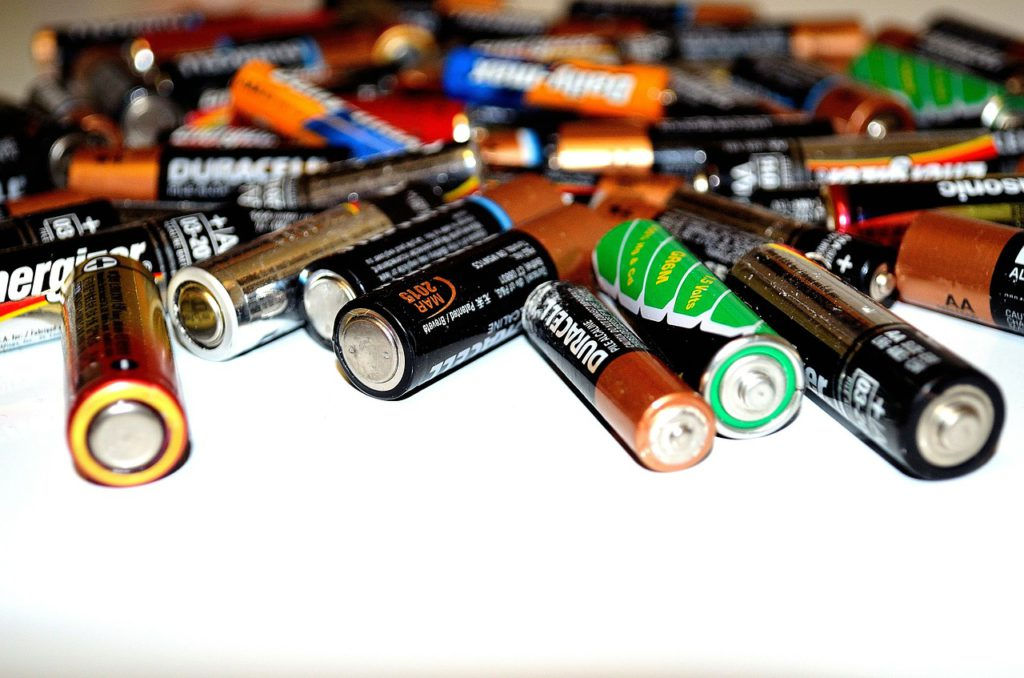 batterijen recyclen