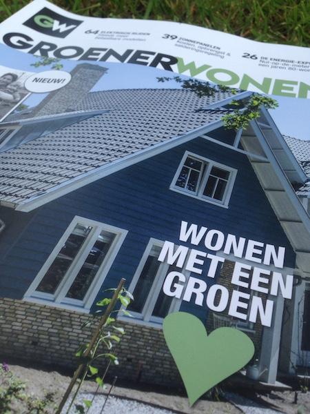 Cover Groen Wonen