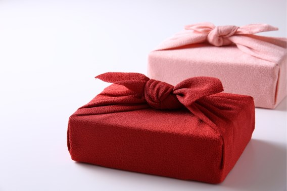 duurzaam inpakken in een mooie stof