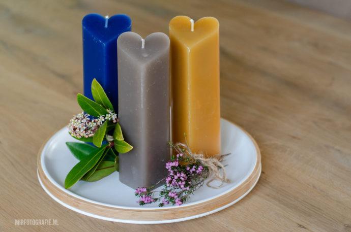kaarsen van kaarsresten