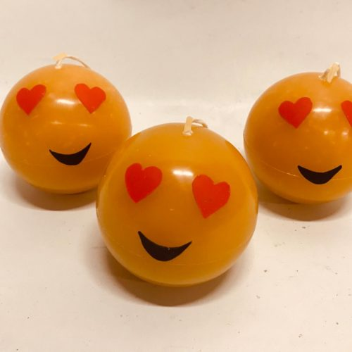 smiley kaars