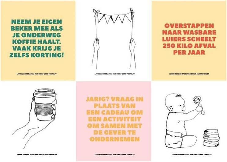 infographic leven zonder afval
