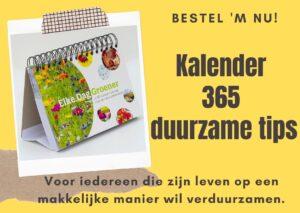 Duurzame kalender